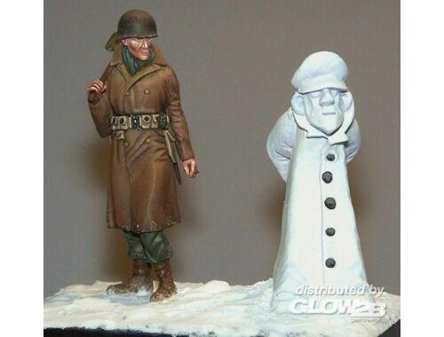 Plus Model Soldat mit Schneemann 1:35 (391)