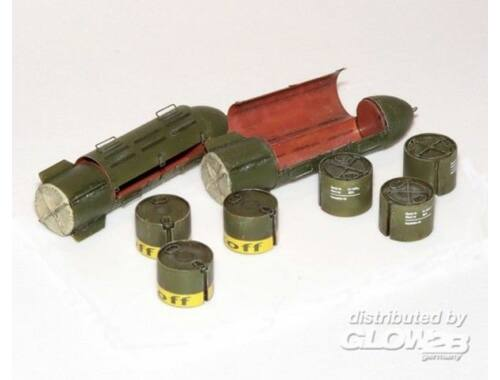 Plus Model Deutsche Versorgungsbombe 1:35 (394)
