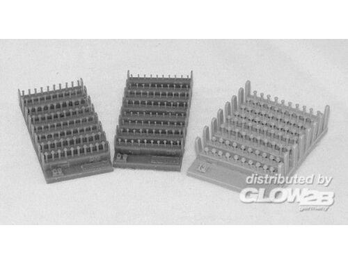 Plus Model Schraube und Mutter 0,9mm 1:35 (407)