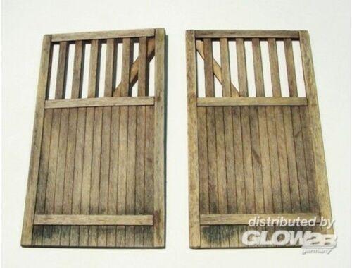 Plus Model Wooden gate - straight 1:35 (432)