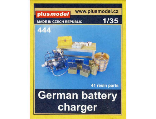 Plus Model German battery charger 1:35 (444)