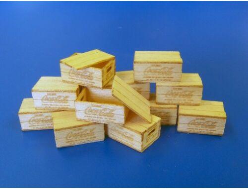 Plus Model US wooden boxes for bottles 1:35 (450)