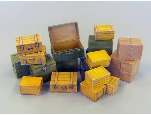 Plus Model Small transport boxes 1:35 (452)