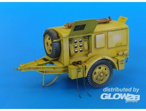 Plus Model German heavy generator 1:48 (4014)