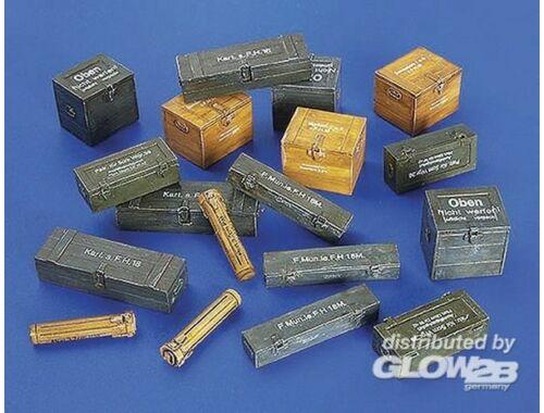 Plus Model Munitionsboxen Deutschland II. Weltkrieg 1:48 (4021)