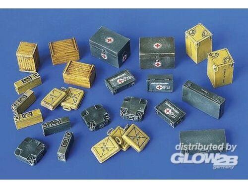 Plus Model Munitions- und Erste-Hilfe-Kisten 1:48 (4023)
