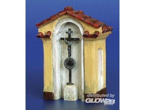 Plus Model Kapelle mit Kreuz 1:48 (4036)