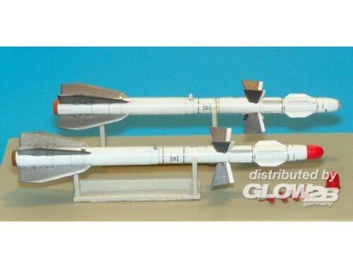 Plus Model Russian missile R-27ET AA-10 Alamo-D 1:48 (AL4008)