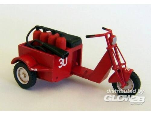 Plus Model U.S. scooter - fire fighter 1:48 (AL4028)