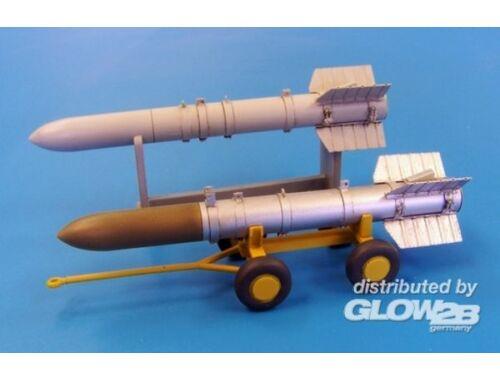 Plus Model US Missile Tiny Tim long 1:48 (AL4030)