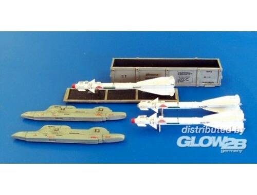 Plus Model Missile R-60 for Mig-29 only 1:48 (AL4032)