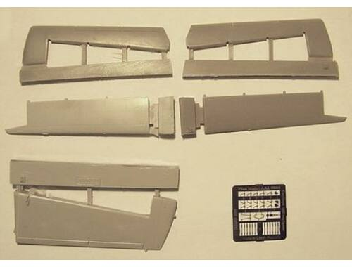 Plus Model Caribou tail surface 1:72 (AL7002-01)