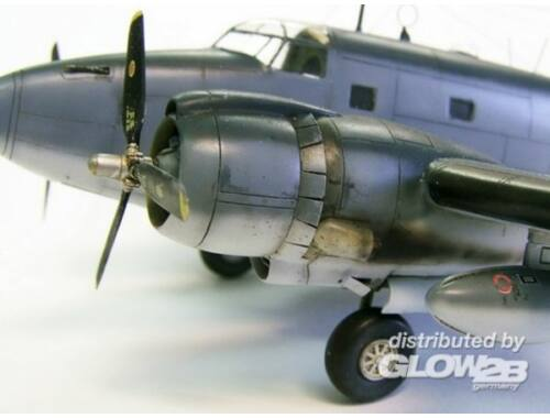 Plus Model Engines cowling for Ventura 1:72 (AL7005)