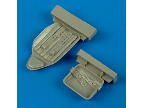 Quickboost MiG-3 seat with safety belts for TRU 1:32 (32138)