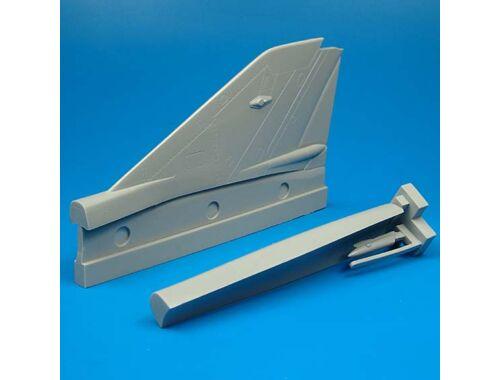 Quickboost MiG-21 MF vertical tail area für Academy Bausatz 1:48 (48035)