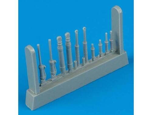 Quickboost Universal Piston Rods I. 1:48 (48165)