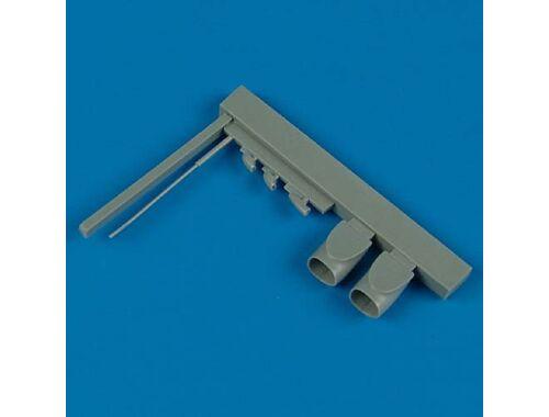 Quickboost Fw Ta 154 Air intakes   pitot tube (DRA) 1:48 (48353)