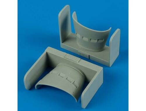 Quickboost Yak-38 Forger A air intakes for HB 1:48 (48426)