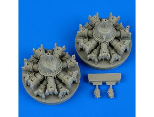 Quickboost A-20 Havoc engines for AMT/ITA 1:48 (48547)