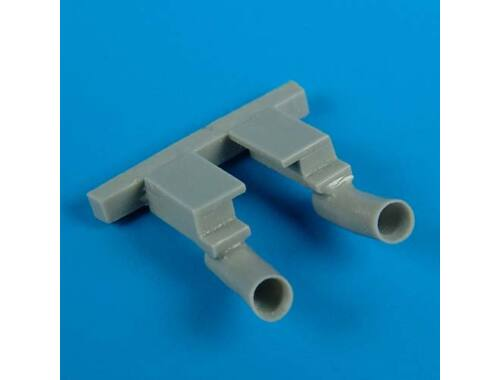Quickboost F2A-2 Buffalo exhaust for Hasegawa 1:72 (72272)