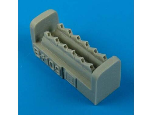 Quickboost Bf 109E exhaust for Airfix 1:72 (72399)