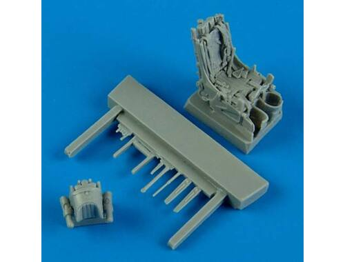 Quickboost MiG-29A ejection seat w. safety belts 1:72 (72410)