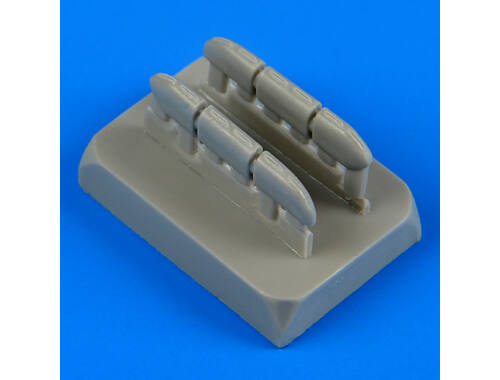 Quickboost Hurricane Mk.I early exhaust for Airfix 1:72 (72442)