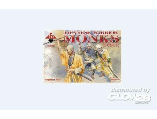 Red Box Japanese Warrior Monks (Sohei) 1:72 (72005)