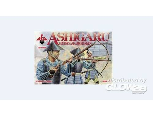 Red Box Ashigaru (Archers and Arquebusiers) 1:72 (72006)
