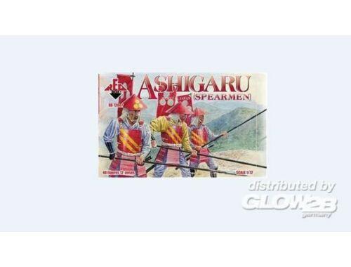 Red Box Ashigaru (Spearmen) 1:72 (72007)