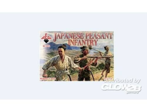 Red Box Japanese peasant infantry 1:72 (72010)