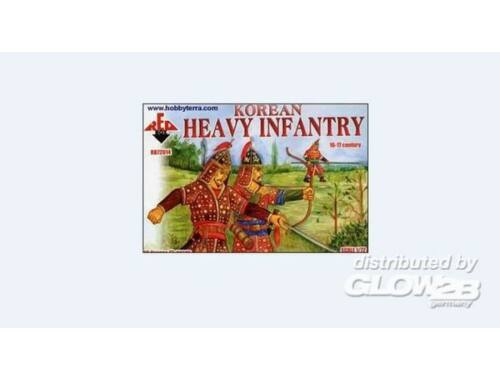 Red Box Korean heavy infantry, 16.-17. century 1:72 (72014)
