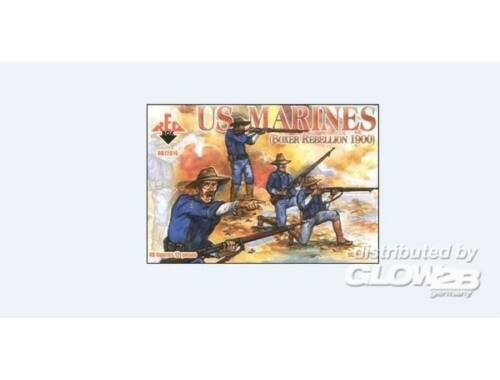 Red Box US Marines, Boxer Rebellion 1900 1:72 (72016)