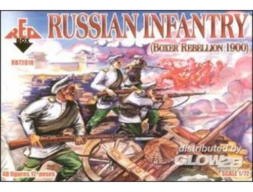 Red Box Russian Infantry, Boxer Rebellion 1900 1:72 (72018)