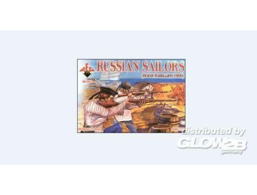 Red Box Russian Sailors, Boxer Rebellion 1900 1:72 (72019)