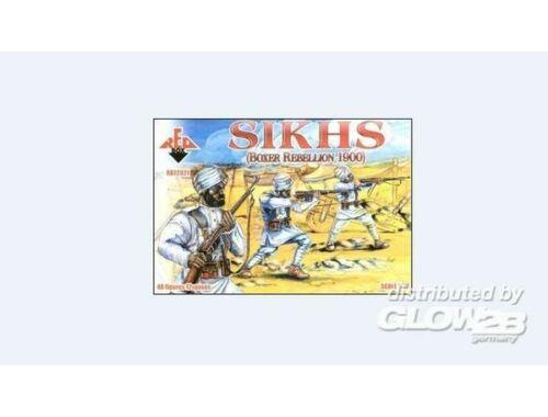 Red Box Sikhs, Boxer Rebellion 1900 1:72 (72021)