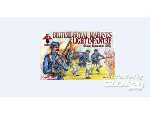 Red Box British Royal Marine Light Infantry,1900 1:72 (72022)