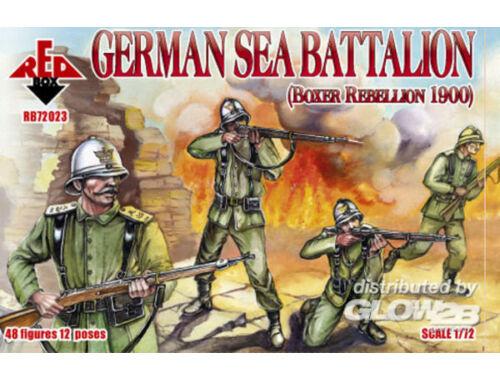 Red Box German sea battalion, Boxer Rebellion 1:72 (72023)