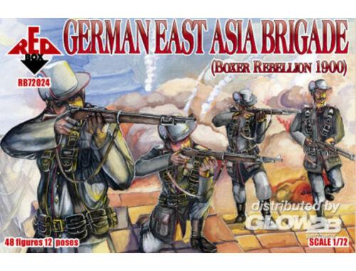 Red Box German East Asia brigade, Rebellion 1900 1:72 (72024)