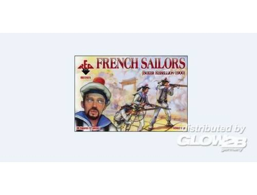 Red Box French sailors, Boxer Rebellion 1900 1:72 (72025)