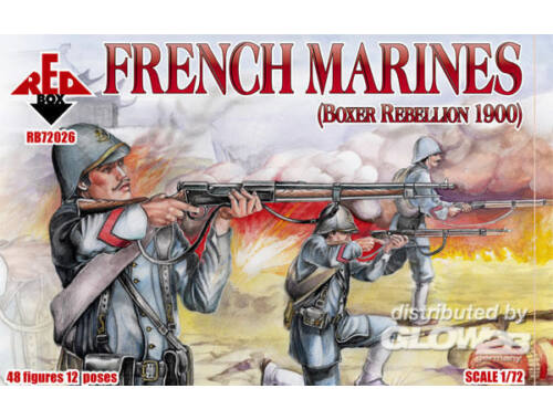 Red Box French marines, Boxer Rebellion 1900 1:72 (72026)