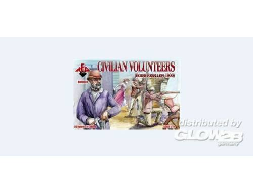 Red Box Civilian Volunteers, Boxer Rebellion 190 1:72 (72028)
