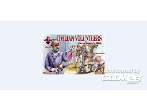 Red Box Civilian Volunteers, Boxer Rebellion 190 1:72 (72028)