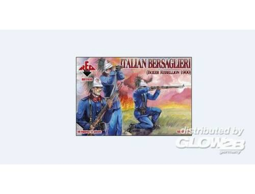 Red Box Italian Bersaglieri, Boxer Rebellion 1:72 (72030)
