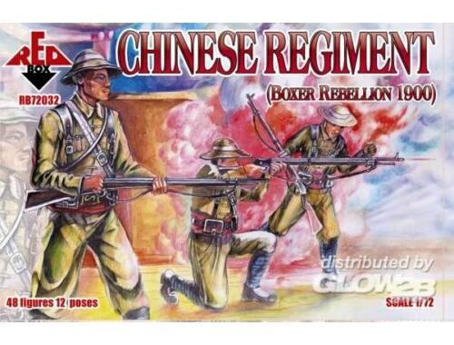 Red Box Chinese Regiment, Boxer Rebellion 1900 1:72 (72032)