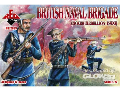 Red Box British naval brigade, Boxer Rebellion 1:72 (72033)