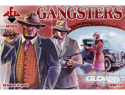 Red Box Gangsters 1:72 (72036)