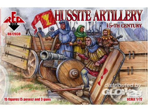 Red Box Hussite artillery, 15. century 1:72 (72038)