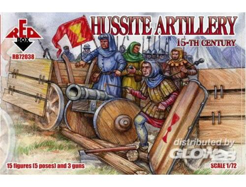 Red Box Hussite Infantry, 15th century 1:72 (72039)