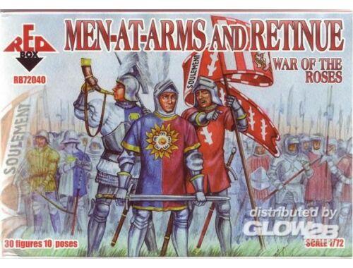 Red Box War of the Roses 1. Men-at-Arms   Retinu 1:72 (72040)